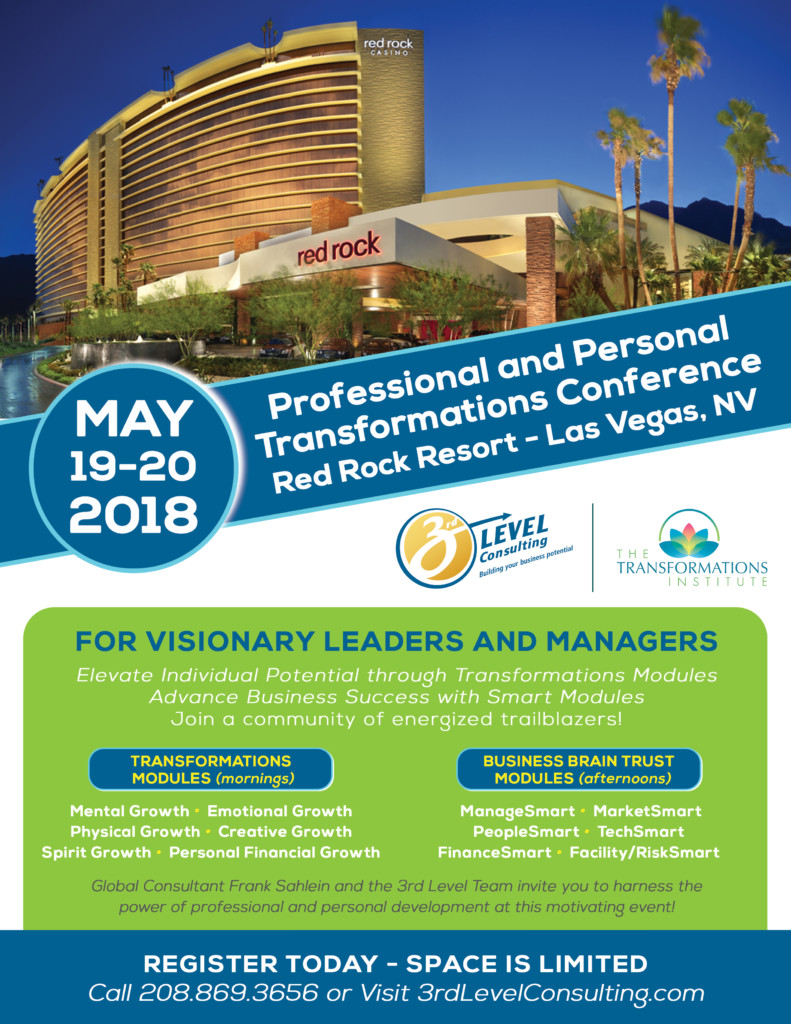 2018 Professional and Personal Transformations Conference